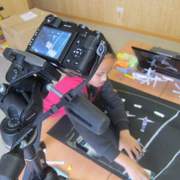 Shooting stop motion animation