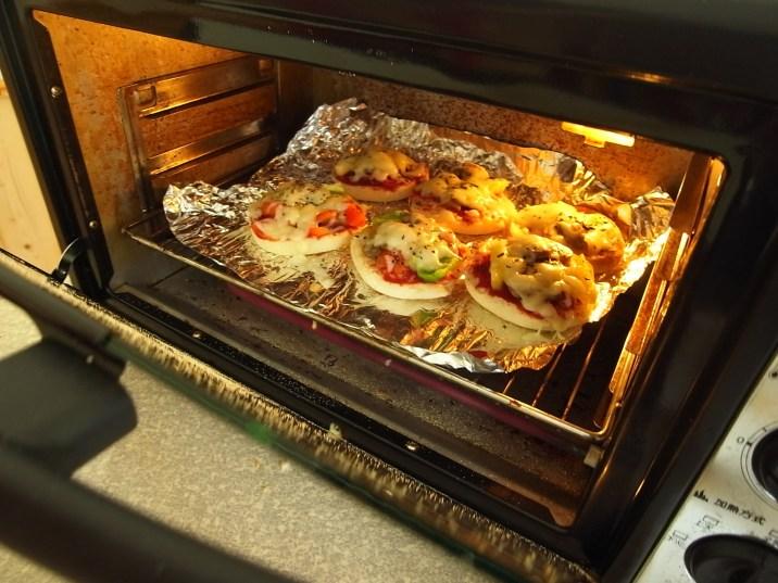Mini Pizzas! Photo courtesy James Teng