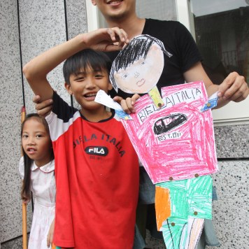 Mini Me workshop with the cutest Atayal kids!