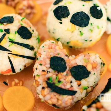 Onigiri made by kids