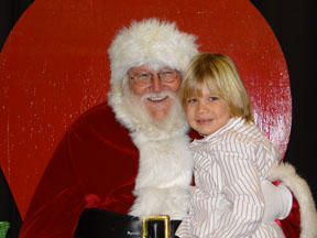 Santa and Carson