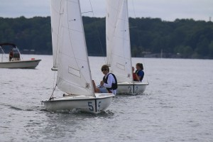 Sailing on Lake Allatoona