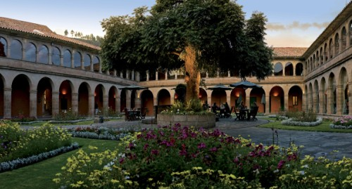 Hotel Monasterio courtyard - Orient Express award winning hotel