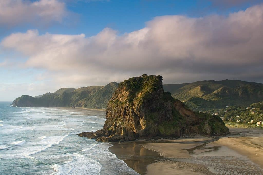 Piha beach was made to be one of the best beaches in New Zealand