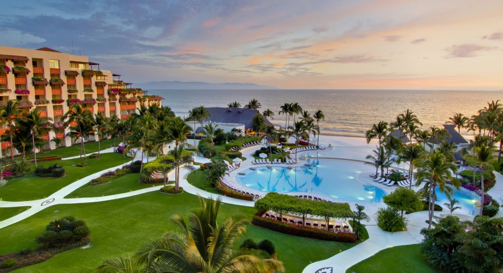 The Grand Velas is one of our favorite all-inclusive resorts in puerto vallarta