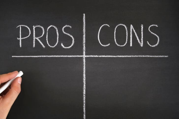 Pros And Cons List Brightspot