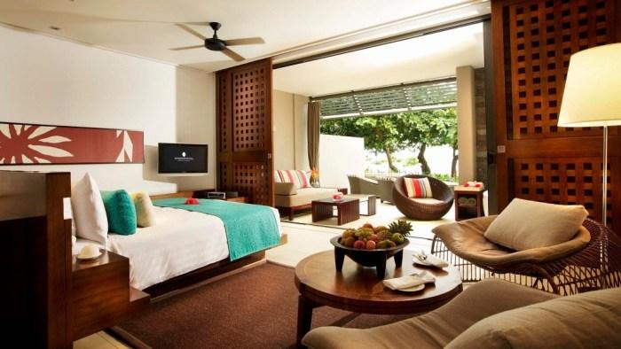 Five star 271 Room in Intercontinental Fiji