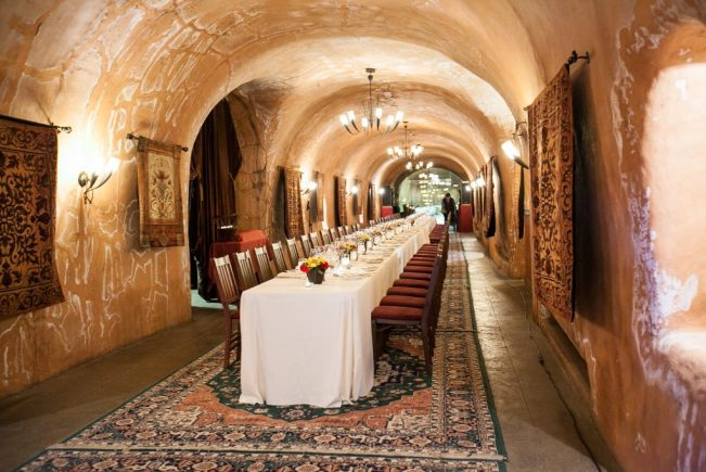 Wine Caver Dinner for Incentive Trip Winners