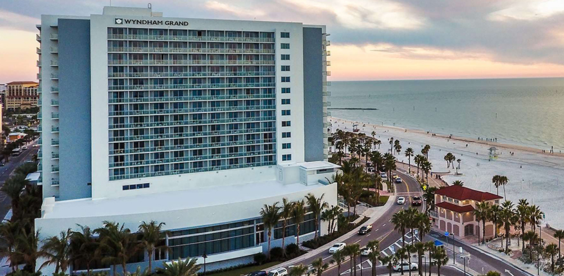 Wyndham Grand is a Clearwater favorite for our top new properties 2019