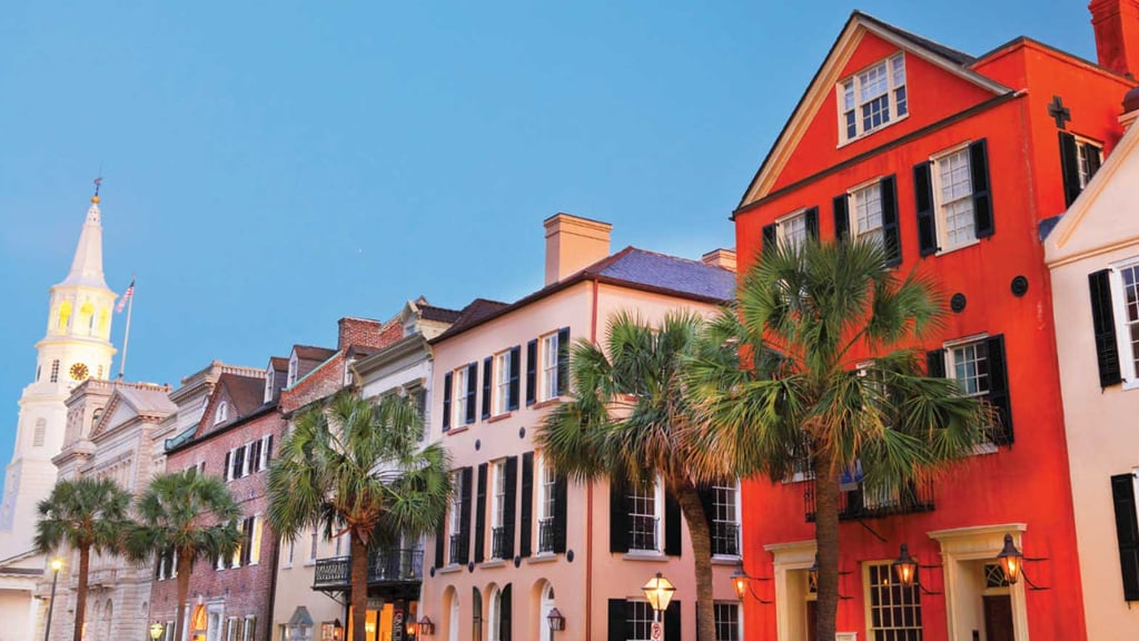 charleston incentive travel destination