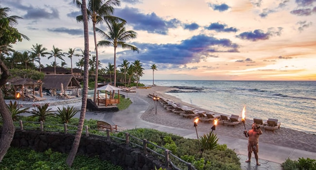 domestic incentive travel four seasons hualalai
