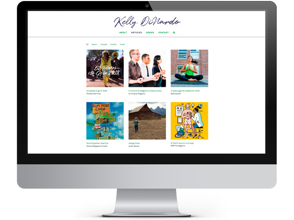 Bright Spot Studio project Kelly DiNardo website