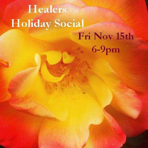 Healers Holiday Social 2019