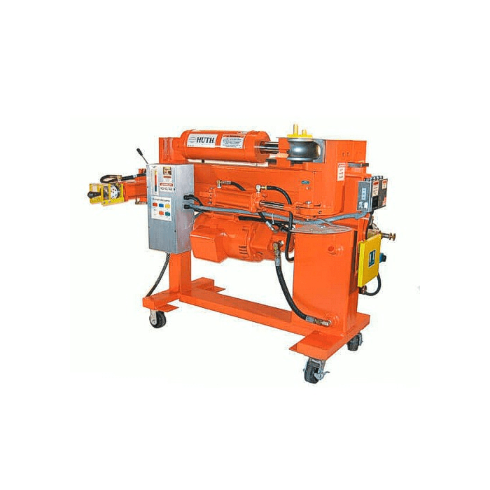 huth 2600hd heavy duty hydraulic pipe and tube bender