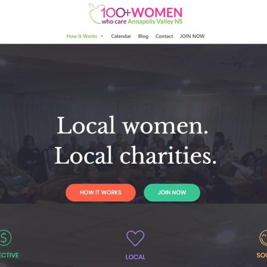 Screenshot 100womenvalley header