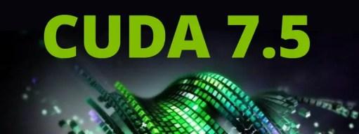 CUDA Toolkit 7.5
