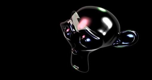 Vulkan 1.0 Crystal Suzanne Blender 3D