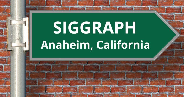SIGGRAPH Conference 2016
