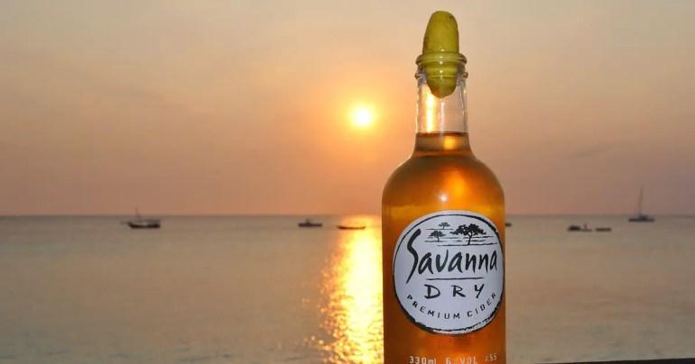 zanzibar savannah cider
