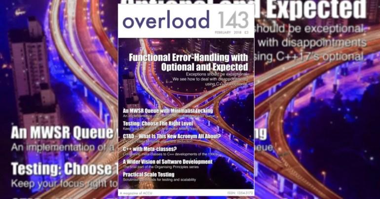 ACCU Overload Journal 143