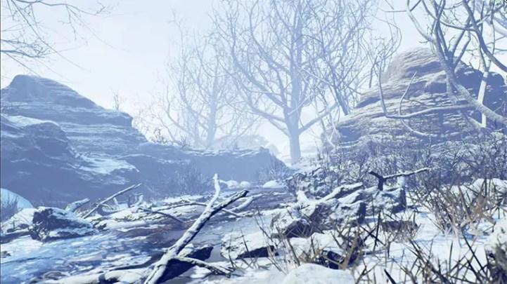 Winter Forest Set