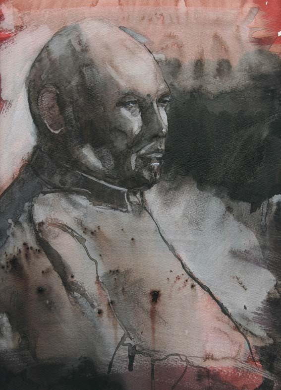 portret gemengde techniek (25x35)