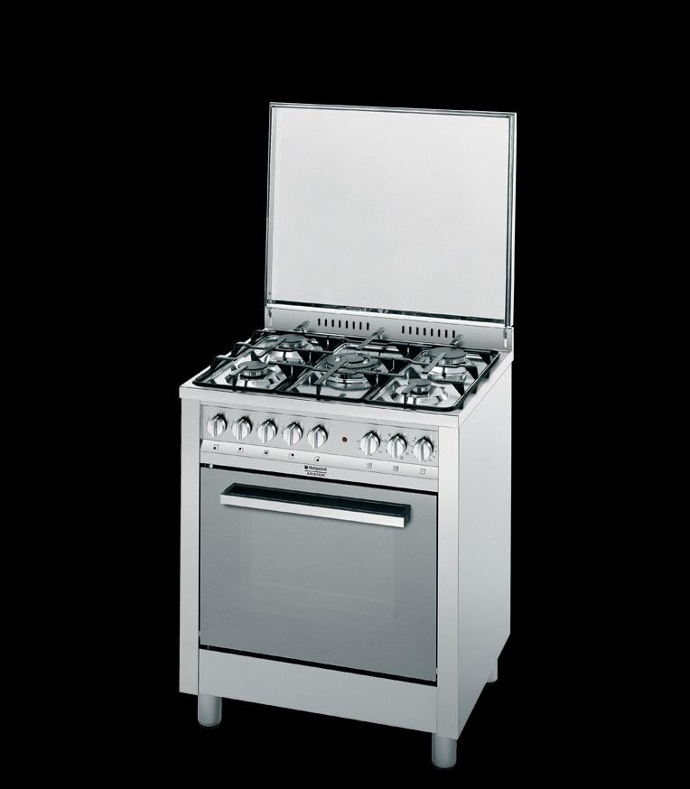 Cucina 60×60 inox Hotpoint Ariston linea professionale ...