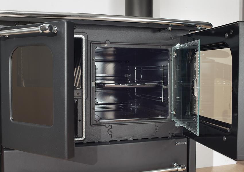 Cucina A Legna In Ghisa.Stufa Cucina A Legna Con Telaio E Focolare In Ghisa 6 5kw 186mc