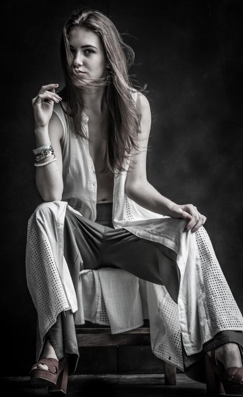 semi nude fashion photoshoot of hot Ukrainian model by brijesh kapoor photography