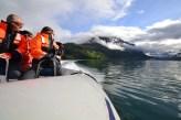 Rib cruising in Olden