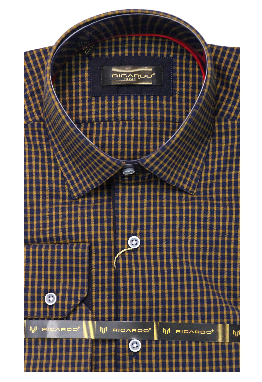 итальянская мужская рубашка Ricardo в магазине Brikston Санкт-Петербург
