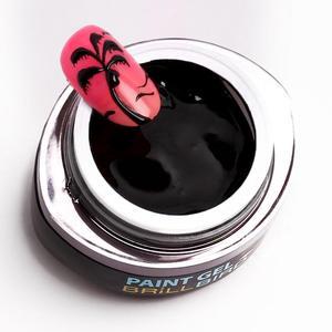 CONTOUR PAINT GEL BLACK 5 ml - Brillbird България