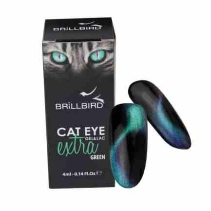 CAT EYE GEL&LAC EXTRA GREEN - Brillbird България