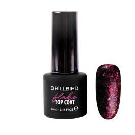 FLAKE TOP COAT PINK