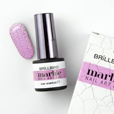 MARBLE NAIL ART LAC - Brillbird България