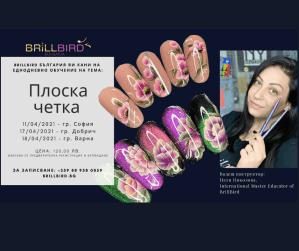 """Обучителен семинар """"Плоска четка"""" в София, Добрич и Варна през април"""