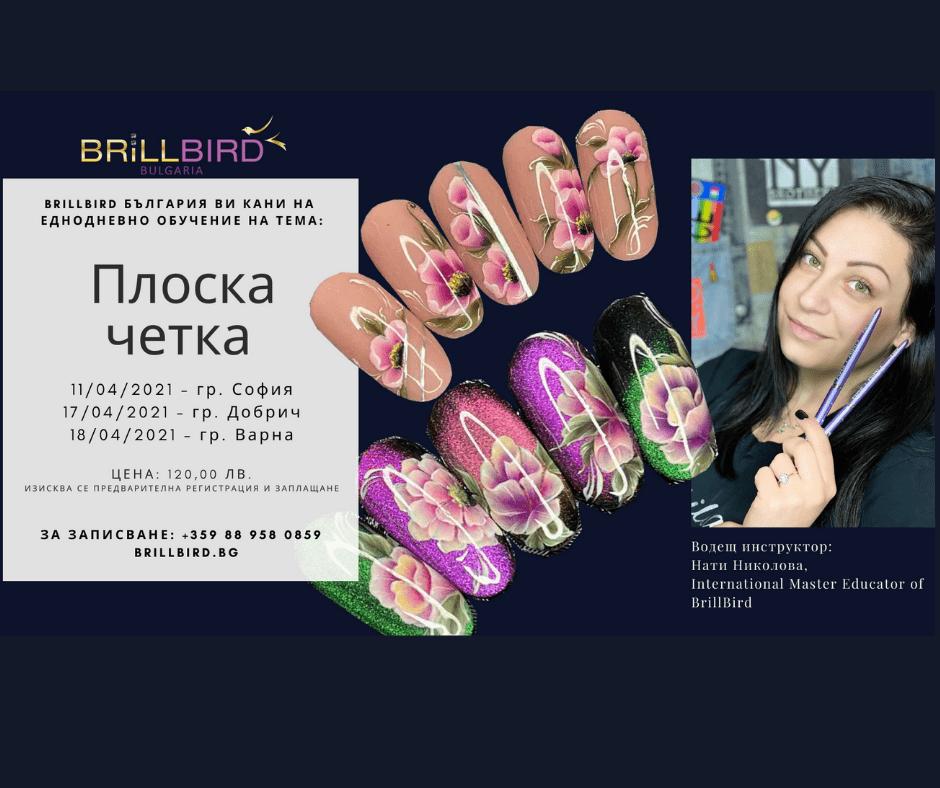 """Read more about the article Обучителен семинар """"Плоска четка"""" в София, Добрич и Варна през април"""