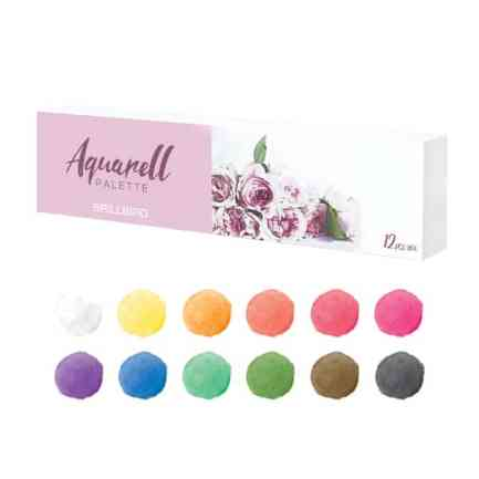 Aquarell Palette 12 pieces - Brillbird България