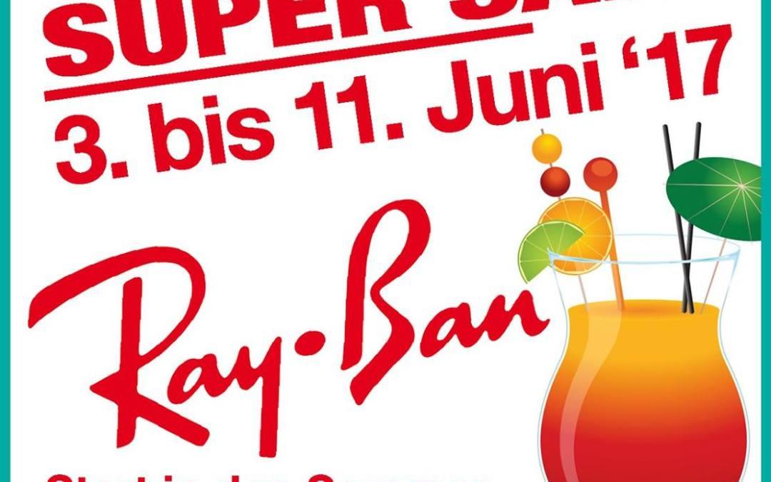 RayBan Super Sale in der INNENSTADT