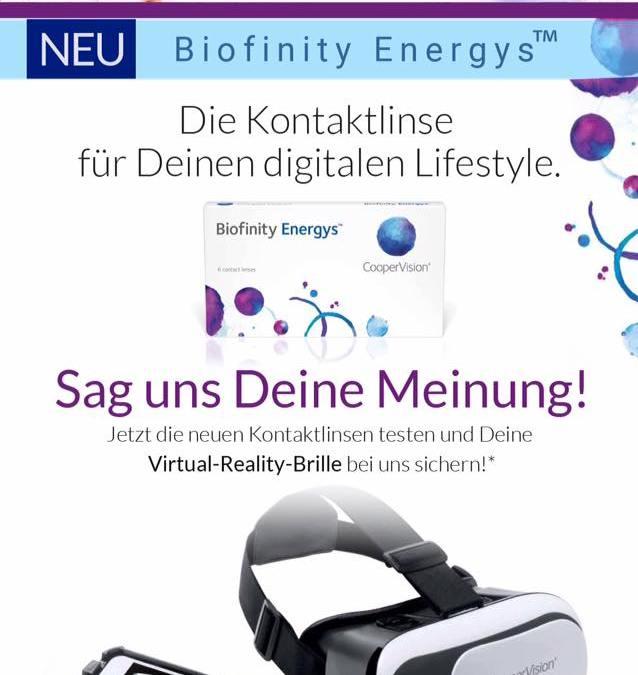 Biofinity Energys™: Kontaktlinsen für den digitalen Lifestyle