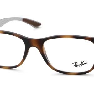 Leesbril Ray-Ban 0RX-8903 5200 55 mat havanna Variabel