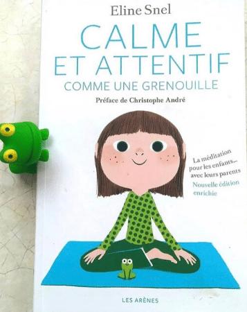calme et attentif comme une grenouille