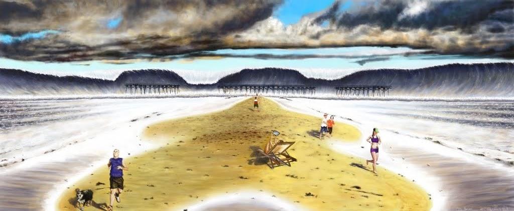 Disaster Peace II Digital Painting