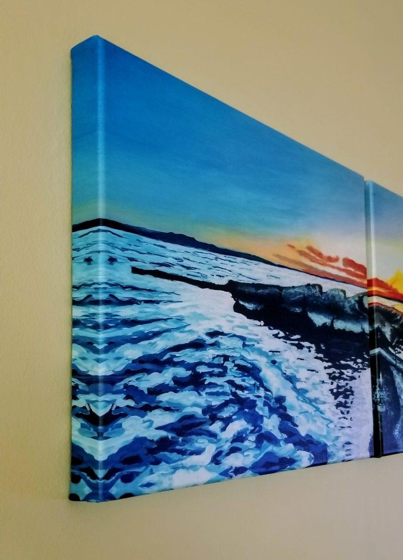 Yellowstone Lake Peninsula Canvas Print