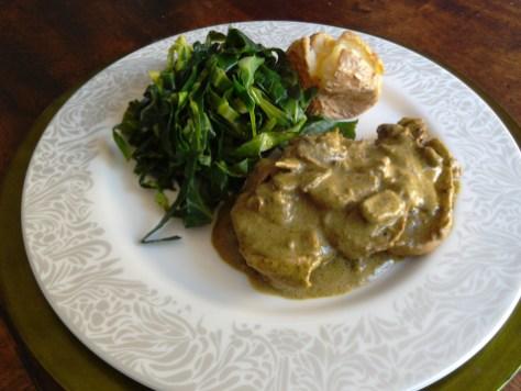 'Spring' Chicken Dish