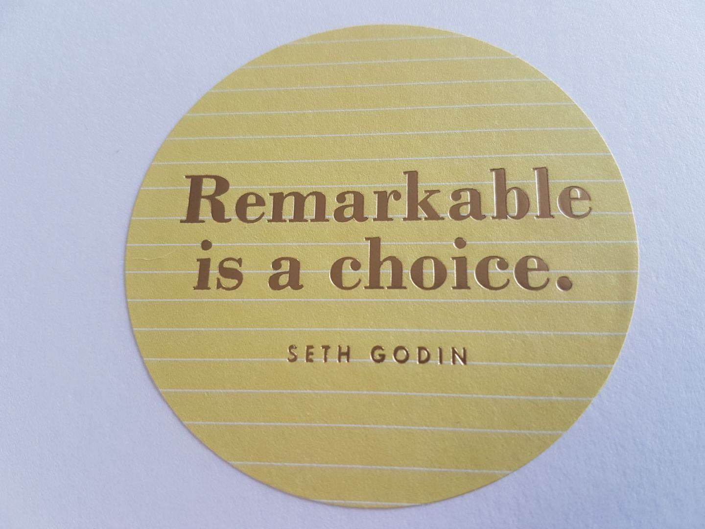 You can choose to be remarkable by increasing your confidence