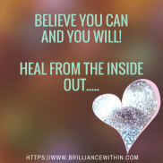 Believe you can improve your confidence and you will