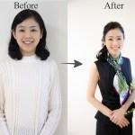 【Before→After】45歳でもかわいいは続く