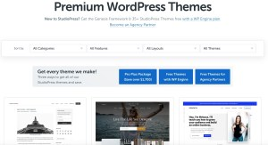 Premium WordPress Themes Setup - StudioPress