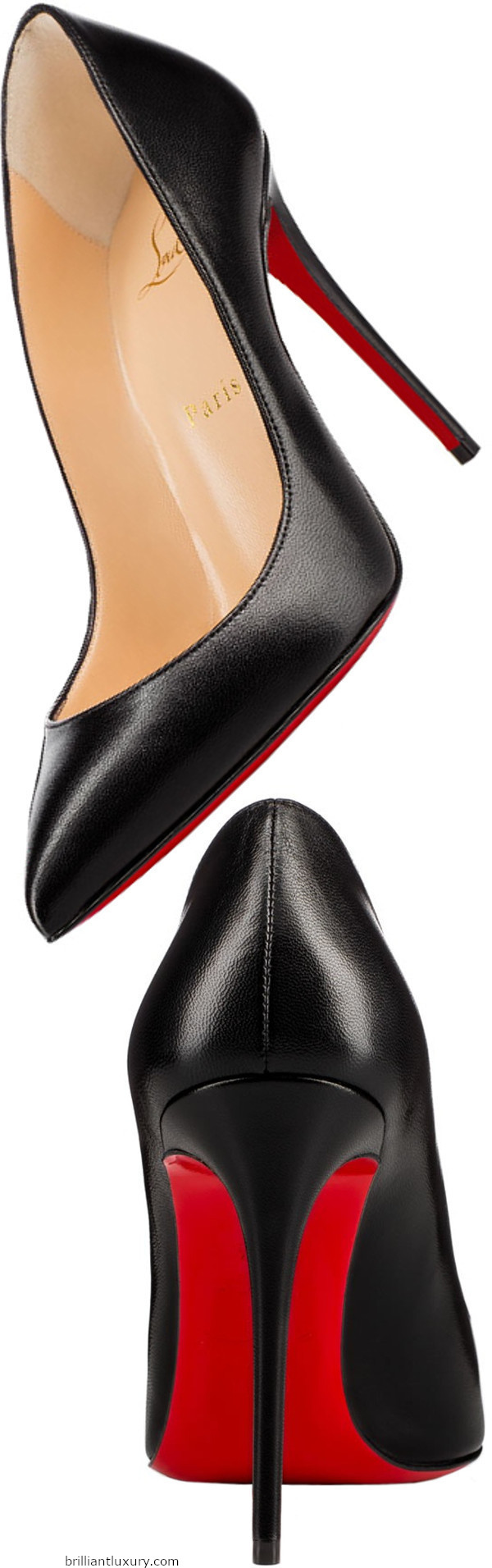 Pigalle Follies nappa leather high heels